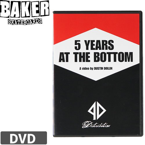 【ベーカー BAKER スケボー DVD】5 YEARS AT THE BOTTOM NO2