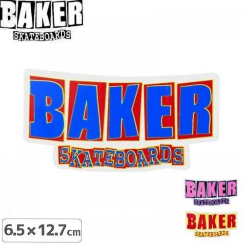 【ベーカー BAKER SKATEBOARD スケボー ステッカー】HOLIDAY 15 STICKER【3色】【6.5cm×12.7cm】NO63