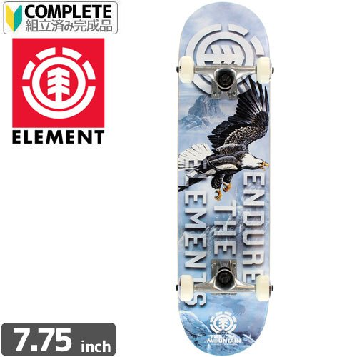 【ELEMENT エレメント スケボー コンプリート】EAGLE MOUNTAIN COMPLETE[7.75インチ]NO8