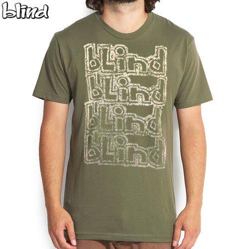 SALE! 【ブラインド BLIND スケボー Tシャツ】FADED OG LOGO TEE【アーミーグリーン】NO12