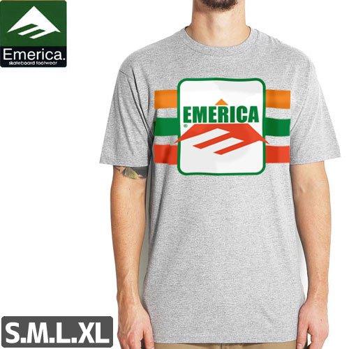 【エメリカ EMERICA スケボー Tシャツ】SHOP LIFTTED TEE【ヘザーグレー】NO127