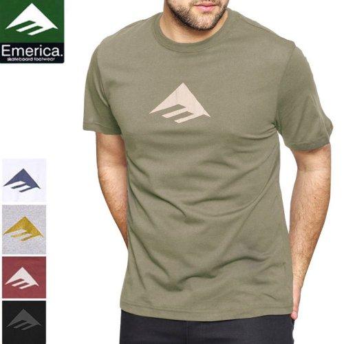 【エメリカ EMERICA スケボー Tシャツ】TRIANGLE 7.1 TEE【2COLOR】NO128