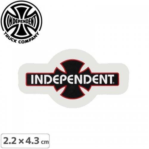 【インディペンデント INDEPENDENT スケボー ステッカー】BAR CROSS【2.2cm x 4.3cm】NO90