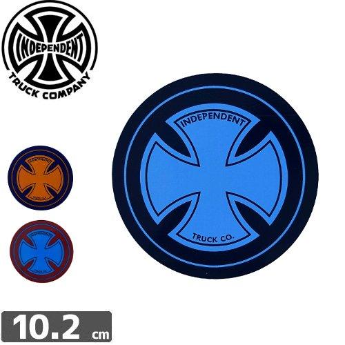 【インディペンデント INDEPENDENT スケボー ステッカー】CROSS STICKER【3色】【10.2cm x 10.2cm】NO92