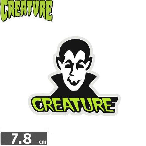 【クリーチャー CREATURE スケボー ステッカー】VAMP STICKER【6.6cm x 7.8cm】NO29