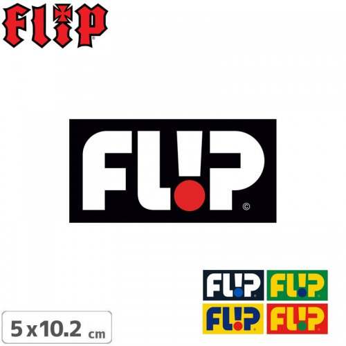 【FLIP フリップ ステッカー】ODYSSEY LOGO STICKER【5色】【5cm x 10.2cm】NO15