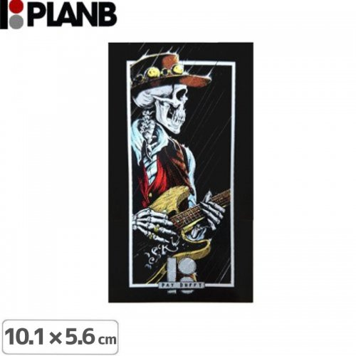【プランビーPLAN-Bスケボーstickerステッカー】PAT DUFFY SKY CRY【10.1cm×5.6cm】NO10