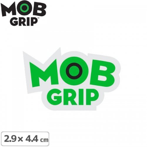 【MOB GRIP モブグリップ sticker ステッカー】LOGO【2.9cm×4.4cm】NO04