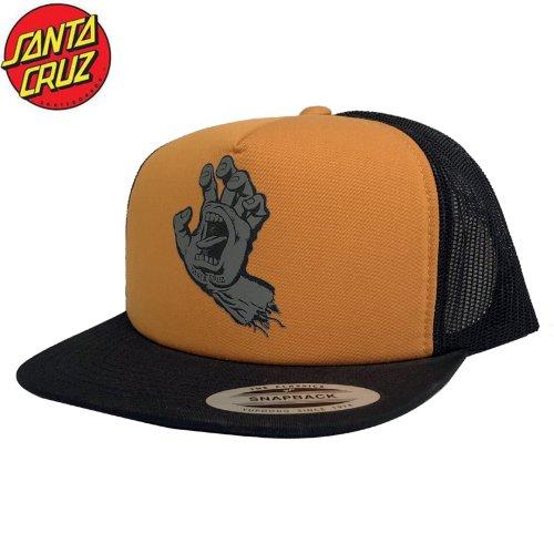 【サンタクルーズ SANTA CRUZ キャップ】SCS SCREAMING HAND MESH TRUCKER HAT【オレンジ】NO29