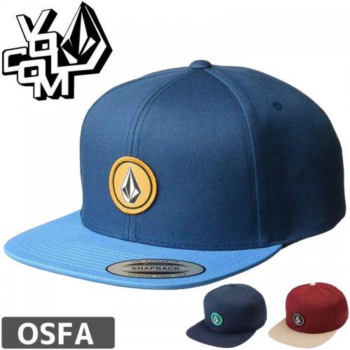 【ボルコム VOLCOM キャップ】QUARTER TWILL HAT【2カラー】NO60