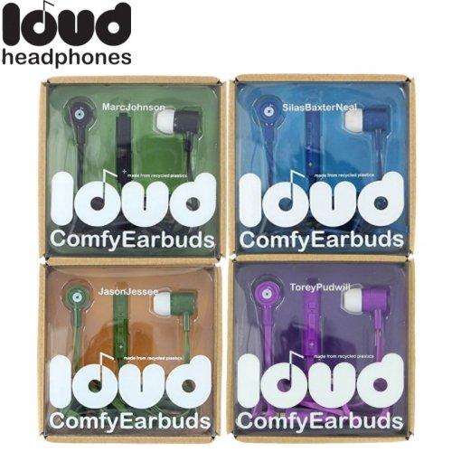 【LOUD HEADPHONES ラウド イヤホン】LOUD COMFY EARBUDS【カナル型】NO7