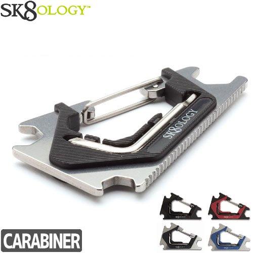 【SK8OLOGY スケートオロギー 工具】CARABINER 2.0 カラビナ キーホルダー NO2