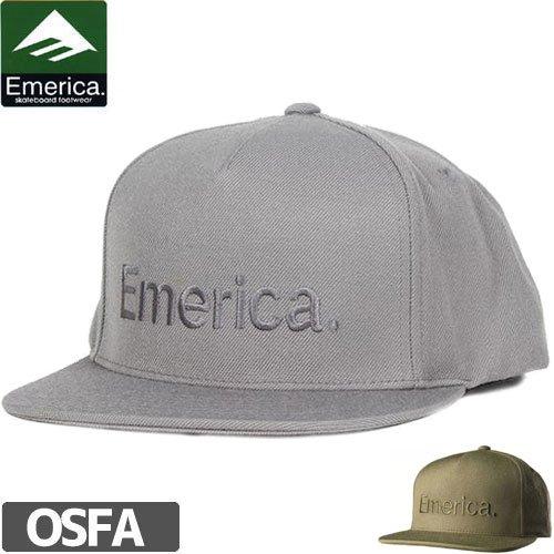 【エメリカ EMERICA キャップ】PURE SNAPBACK HAT【スナップバック】NO32