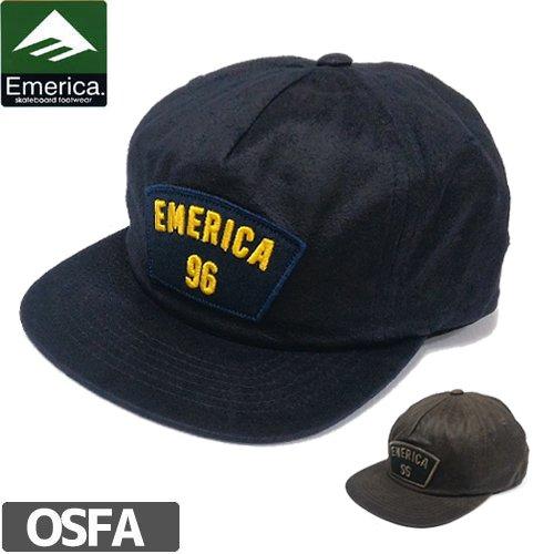 【エメリカ EMERICA キャップ】TRAINSPOTTER BALL CAP【ボールキャップ】NO33