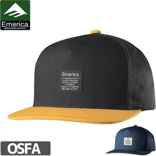 【エメリカ EMERICA キャップ】STANDARD ISSUE SNAPBACK CAP【スナップバック】NO35