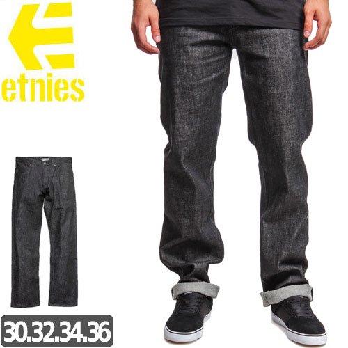 【エトニーズ ETNIES ジーンズ】CLASSIC STRAIGHT DENIM PANTS デニム パンツ NO2