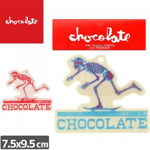 【チョコレート CHOCOLATE スケボー エアフレッシュナー】El CHOCOLATE AIR FRESHENER 芳香剤 NO1