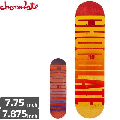【チョコレート CHOCOLATE スケボー デッキ】LEAGUE FADE DECK[7.875インチ]NO128