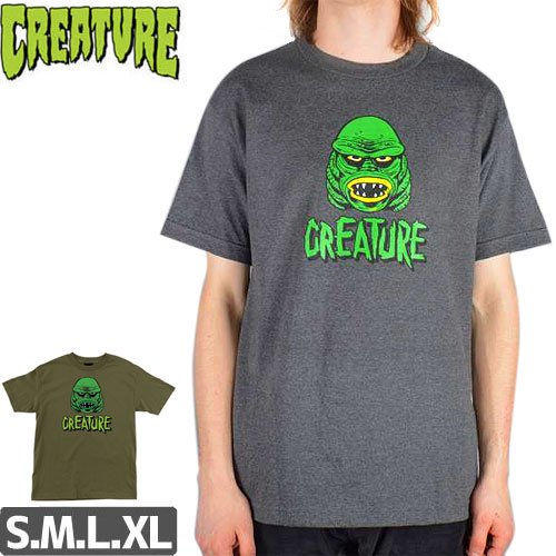 SALE! 【CREATURE クリーチャー スケボー Tシャツ】BLACK LAGOON TEE NO108