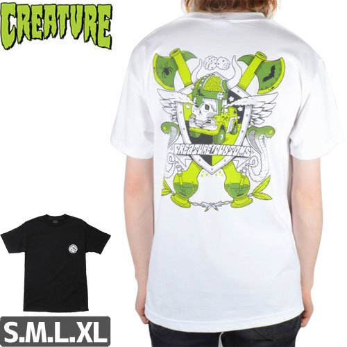 SALE! 【CREATURE クリーチャー スケボー Tシャツ】CUSTOMS POCKET TEE ポケットTEE NO109