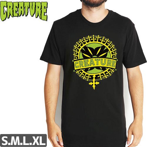 SALE! 【CREATURE クリーチャー スケボー Tシャツ】STAINED GLASS TEE NO111