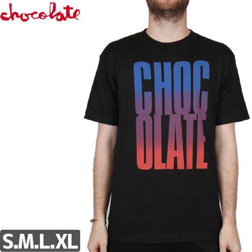 【チョコレート CHOCOLATE Tシャツ】BIG CHOCOLATE FADE TEE NO143