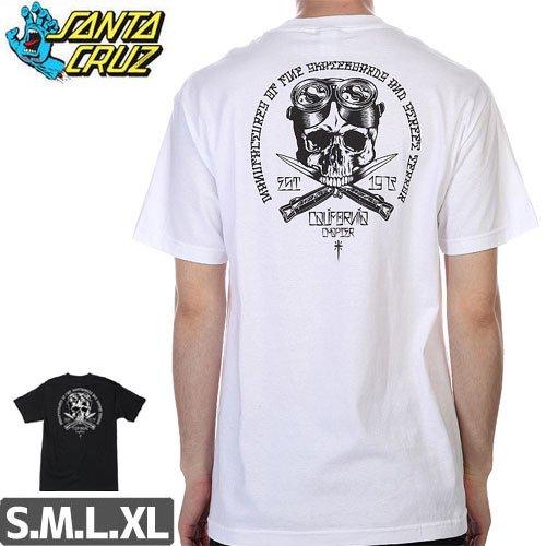 SALE! 【サンタクルズ SANTA CRUZ Tシャツ】CALIFAS TEE【ブラック】NO89