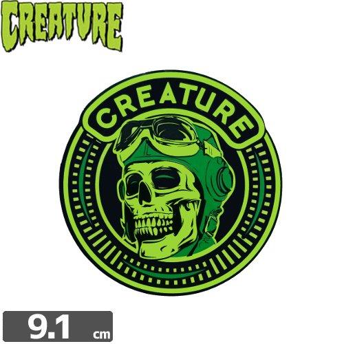 【クリーチャー CREATURE スケボー ステッカー】DIE HIGH STICKER【9.1cm x 9cm】NO33