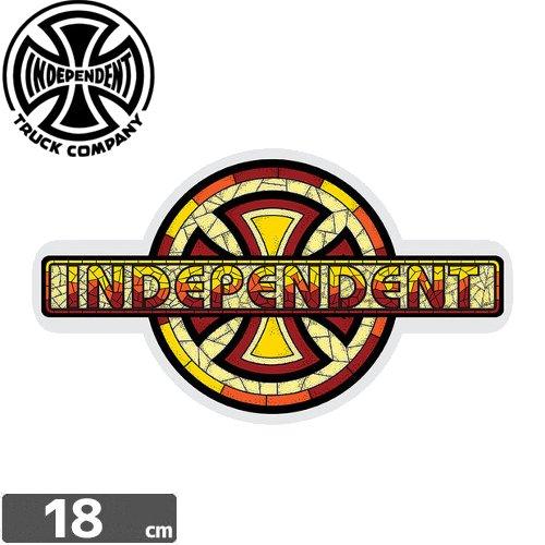 【インディペンデント INDEPENDENT スケボー ステッカー】CHURCH【10.4cm x 18cm】NO93