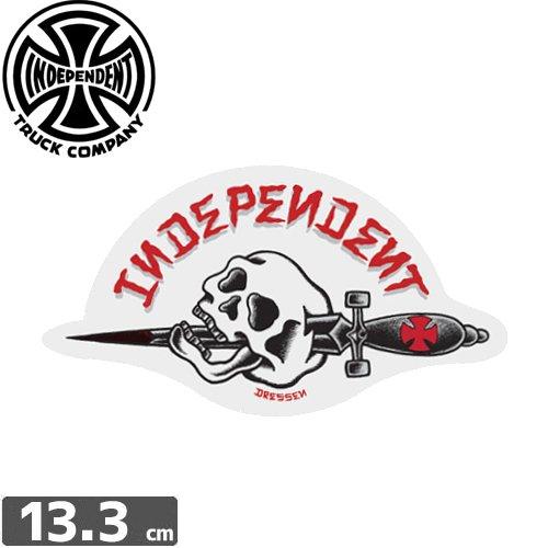 【インディペンデント INDEPENDENT スケボー ステッカー】DRESSEN DAGGER【7.2cm x 13.3cm】NO94