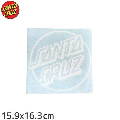 【サンタクルーズ SANTACRUZ スケボー ステッカー】TDC OPUS DOT【15.9cm x 16.3cm】NO78