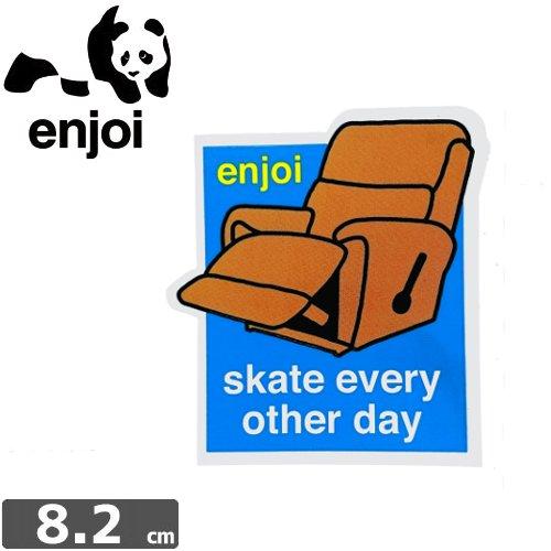 【ENJOI エンジョイ ステッカー】CHAIR【8.2cm × 7.3cm】NO66