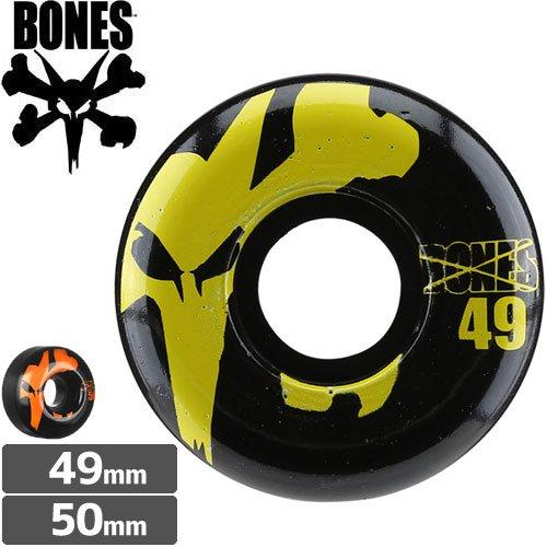 【ボーンズ BONES スケボーウィール】100's BLACK PRICE POINT【49mm】【50mm】NO128