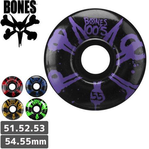 【ボーンズ BONES スケボーウィール】100's BLACK #10 OG FORMULA【51mm】【52mm】【53mm】【54mm】【55mm】NO131