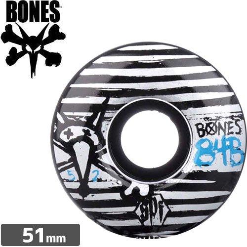 【ボーンズ BONES スケボー ウィール】SPF STROKES V1【51mm】NO137