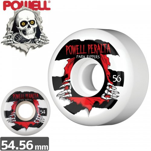 【パウエル POWELL スケボー ウィール】PARK RIPPERS PARK FORMULA【54mm】【56mm】NO18