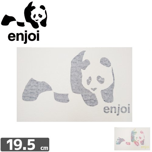 【ENJOI エンジョイ ステッカー】PANDA【12.5cm × 19.5cm】NO71