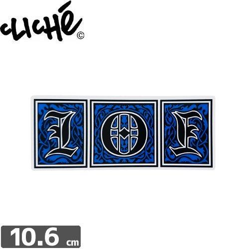 【CLICHE クリシェ ステッカー】101【4.4cm x 10.6cm】NO91