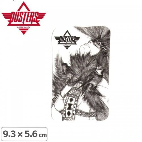 【SPEED DEMONS ステッカー】SURF SURFING INDIAN【9.3cm x 5.6cm】NO15
