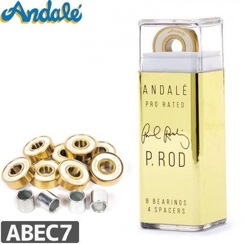 【ANDALE アンダレー スケボー ベアリング】P-ROD PRO RATED BEARINGS【ABEC7相当】NO4