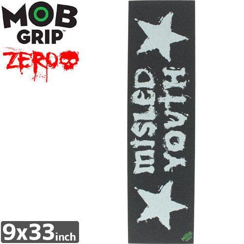 【モブグリップ MOB GRIP デッキテープ】MISLED YOUTH SINGLE SHEET【ZERO】【9 x 33】NO134