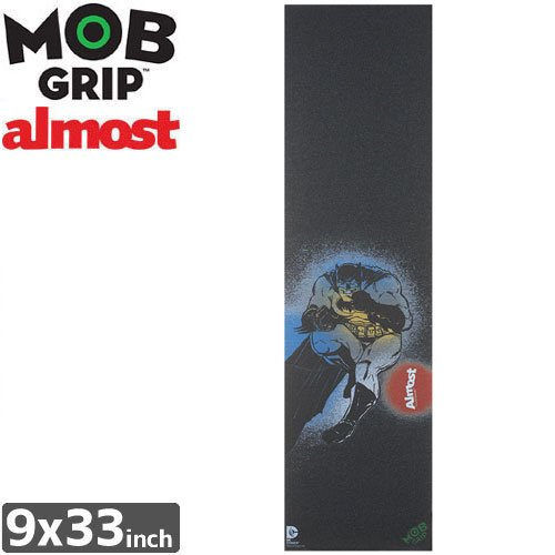 【モブグリップ MOB GRIP デッキテープ】DARK KNIGHT RETURNS SINGLE SHEET【ALMOST】【9 x 33】NO143