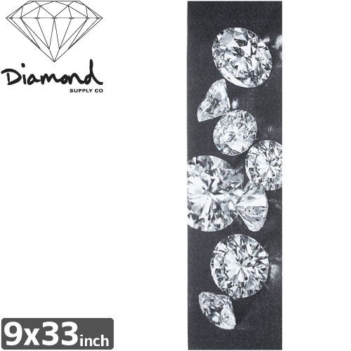 【DIAMOND SUPPLY ダイアモンド デッキテープ】SPILLED JEWELS GRIPTAPE TAPE【9 x 33】NO7