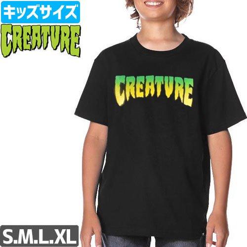 【CREATURE クリーチャー キッズ Tシャツ】LOGO YOUTH TEE【ユースサイズ】NO6