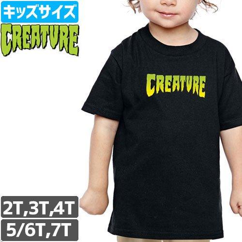 【CREATURE クリーチャー キッズ Tシャツ】LOGO TODDLER TEE【幼児サイズ】NO8