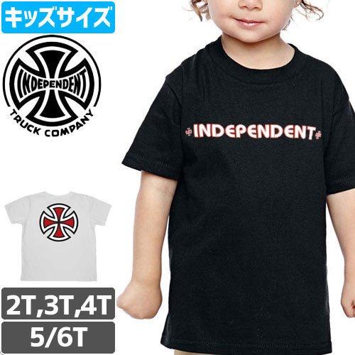 【インディペンデント INDEPENDENT キッズ Tシャツ】BAR & CROSS TODDLER TEE【幼児サイズ】NO14
