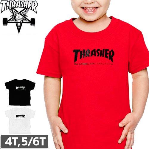 【スラッシャー THRASHER キッズ Tシャツ】US規格 SKATE MAG TODDLER TEE【幼児サイズ】NO10