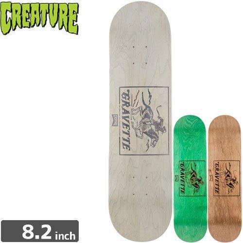 【クリーチャー CREATURE スケボー デッキ】GRAVETTE MARKSMAN DECK[8.2インチ]NO138