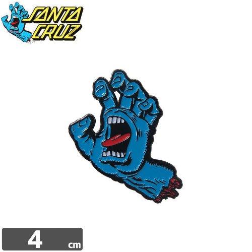 【サンタクルーズ SANTA CRUZ ピンバッチ】SCREAMING HAND【4cm x 3cm】NO2