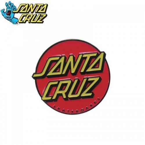 【サンタクルーズ SANTA CRUZ ピンバッチ】CLASSIC DOT【3cm x 3cm】NO3